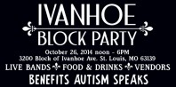 Ivanhoe Block Party Oct. 26 noon - 6PM