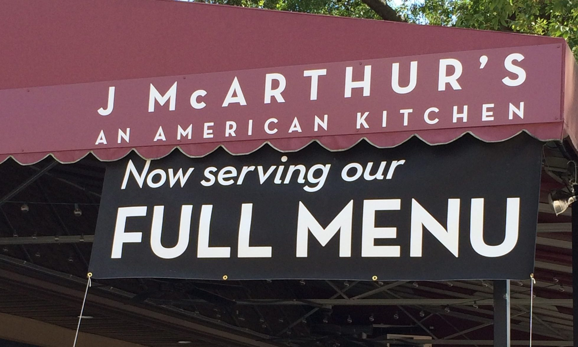 J McArthur's - An American Kitchen