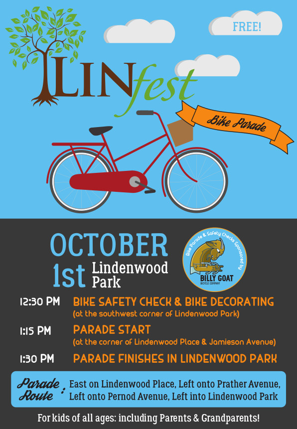 Linfest Bike Parade Oct 1