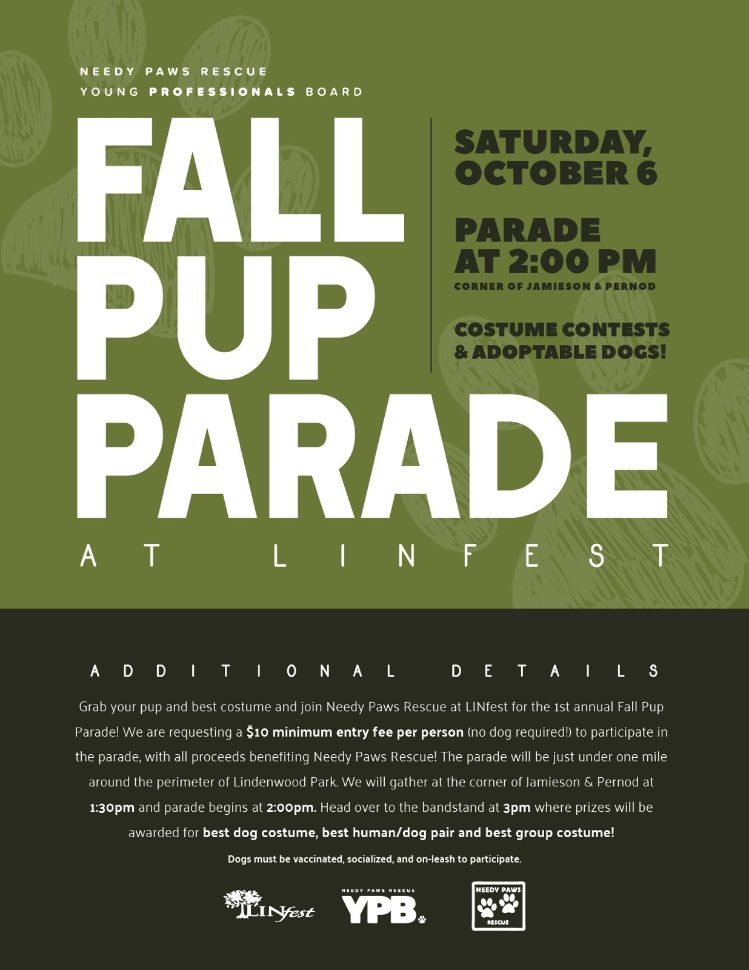 Pup Parade Poster